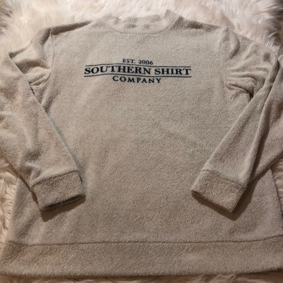 The Southern Shirt Company Tops - Southern Shirt Company Heather Loop Knit Terry